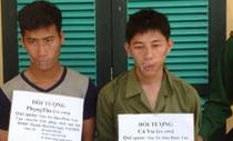 Bắt hai người Lào với 5 bánh heroin và gần 27.000 viên ma túy
