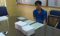 Giấu 5.000 viên ma tuý trong lõi măng tre đưa về Hà Nội