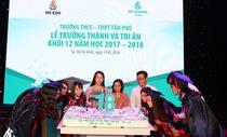 Lễ trưởng thành và tri ân xúc động ở trường Tân Phú