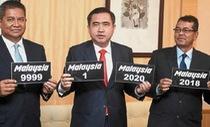 Malaysia đấu giá biển số xe đặc biệt lấy tiền về cho ngân sách