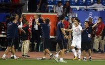 Quang Hải lỡ cơ hội thi đấu trong phút cuối trận thắng U22 Indonesia