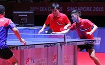 Đôi Tuấn Quỳnh/Anh Tú giành huy chương đầu tiên ở SEA Games 28