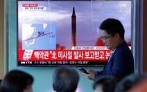 Căng thẳng cực độ vì Triều Tiên