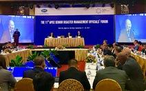 Hội nghị APEC về quản lý thiên tai khai mạc tại Nghệ An