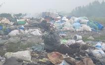 Bãi rác thải công nghiệp trái phép tồn tại hơn 6 năm