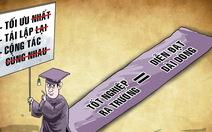 Đã 'tối ưu' còn 'nhất', đã 'tốt nghiệp' lại thêm 'ra trường'!