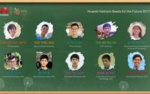 10 sinh viên Việt nhận học bổng 'Hạt giống viễn thông tương lai'