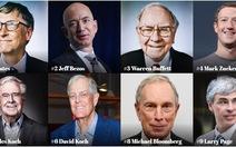 Ông Trump tụt 92 hạng trong danh sách 400 người Mỹ giàu nhất