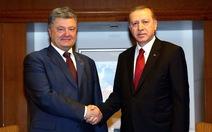 Thổ Nhĩ Kỳ ủng hộ Ukraine về bán đảo Crimea