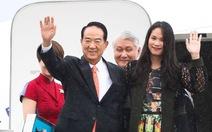 Phái đoàn Đài Loan đã đến chuẩn bị dự hội nghị APEC