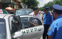 Sở GTVT vào cuộc kiểm tra, xử lý taxi dù 'chặt chém' khách