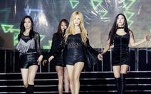 T-Ara rơi nước mắt trong live concert tại Việt Nam