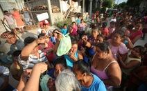 Mexico tiếp tục tìm kiếm nạn nhân trận động đất quá mạnh