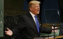 Tổng thống Trump lần đầu phát biểu ở Đại hội đồng Liên Hiệp Quốc