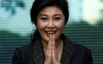 Bà Yingluck bị tuyên 5 năm tù