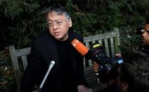 Ishiguro nghĩ rằng 'đoạt Nobel văn học 2017' là tin giả
