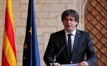 Thủ hiến Catalonia: sẽ tiếp tục chiến đấu vì 'một đất nước tự do'