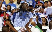 Cựu danh thủ bóng đá đắc cử tổng thống Liberia
