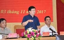 Phó thủ tướng Trịnh Đình Dũng: 'Bảo vệ tính mạng nhân dân là số 1'