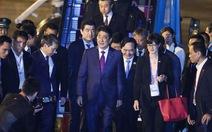 Thủ tướng Nhật Shinzo Abe tới Đà Nẵng chuẩn bị cho APEC
