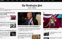 Trung Quốc làm giả cả báo Washington Post của Mỹ