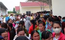 Bức xúc tiền lương, hơn 500 công nhân ngừng việc phản đối