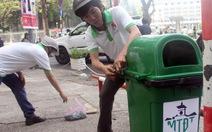 TP.HCM quản lý thùng rác công cộng theo mạng lưới