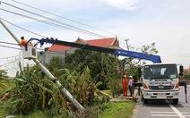 Huy động 7 tỉnh hỗ trợ Quảng Bình khắc phục điện sau bão