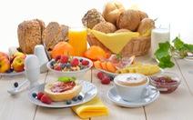 Ăn sáng còn giúp ngừa nguy cơ xơ vữa, tắc nghẽn động mạch