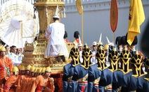 Clip lễ hỏa táng cố vương Bhumibol Adulyadej