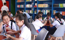 Thư viện thông minh đầu tiên của trường THCS