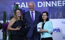 VNA nhận giải thưởng 'Hãng hàng không của năm tại khu vực châu Á – Thái Bình Dương'