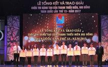 Học sinh Hà Nội chiến thắng cuộc thi 'Sáng tạo thanh thiếu nhi toàn quốc'