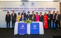 Sanofi hợp tác cùng Vinapharm sản xuất thuốc tiêu chuẩn cao