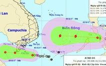 Áp thấp lại hướng vào miền Nam sau đúng 20 năm bão Linda