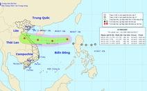 Áp thấp nhiệt đới hướng vào Hà Tĩnh - Quảng Bình