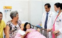 Phẫu thuật cứu sống hai mẹ con sản phụ