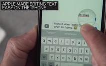 Cách lôi ra 'con chuột' ẩn trong bàn phím iPhone