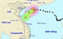 Bão số 11 sắp suy yếu thành áp thấp nhiệt đới