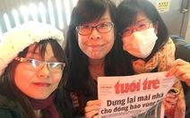 Báo Tuổi Trẻ đã chạm ngõ trái tim bạn trẻ Nhật