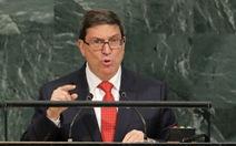 Cuba yêu cầu Mỹ không chính trị hóa sức khỏe ngoại giao đoàn