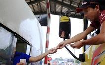 Trạm BOT Biên Hòa xả trạm lần 4 do tài xế dùng tiền lẻ