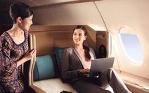 Singapore Airlines định bỏ phục vụ đậu phộng trên máy bay