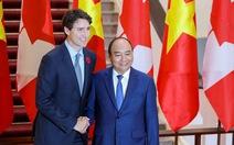 Đón chính thức Thủ tướng Canada tại Phủ Chủ tịch