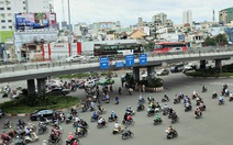 Từ 21-10, cho xe máy chạy trên cầu vượt Hàng Xanh