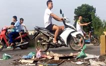 Hà Nội yêu cầu xử lý các trường hợp chặn xe rác