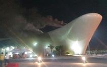 Công nhân bất cẩn, Cung Quy hoạch tỉnh Quảng Ninh bị cháy