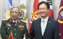 Hợp tác quốc phòng Việt Nam - Hàn Quốc đi vào chiều sâu