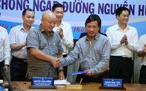 TP.HCM thuê siêu máy bơm chống ngập đường Nguyễn Hữu Cảnh