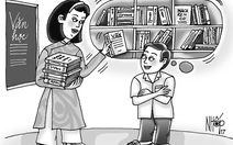 Tủ sách của cô hiệu trưởng
